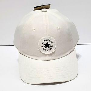 Converse Cream/Off White Logo Hat